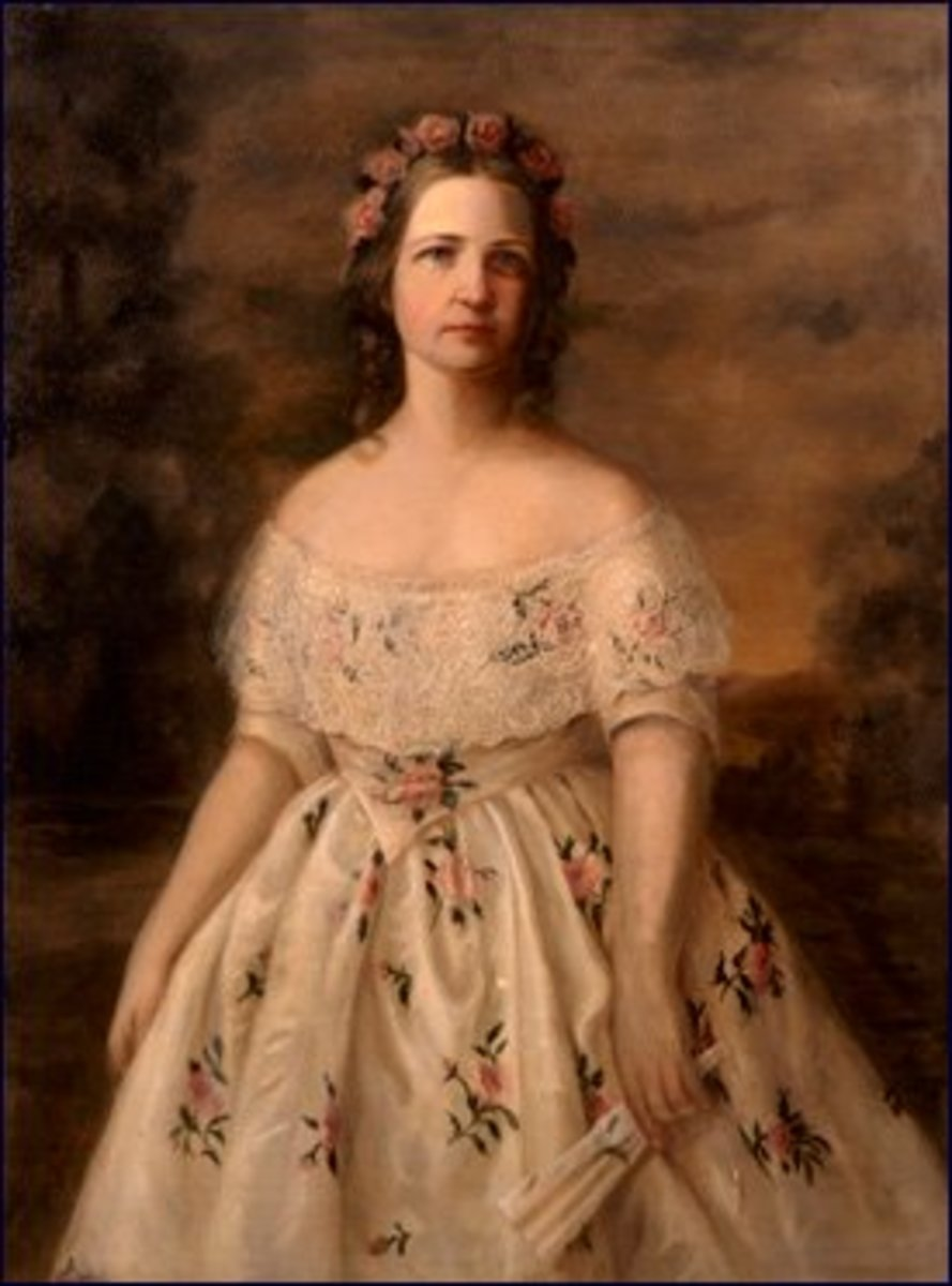A Young and Beautiful Mary Todd Lincoln
