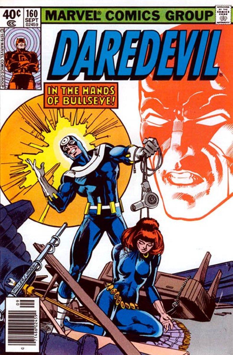 The cover of Marvel's Daredevil #160.