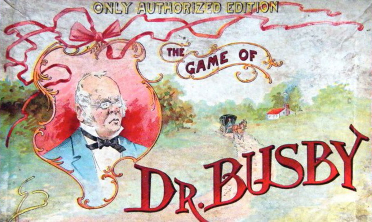 Learn about The Game of Dr. Busby and its designer, Anne W. Abbott.