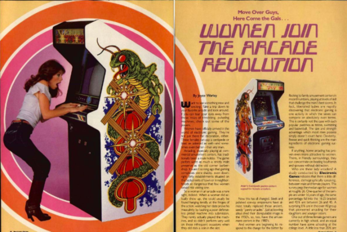 1982: Women, Pac-Man, and the Arcade Revolution