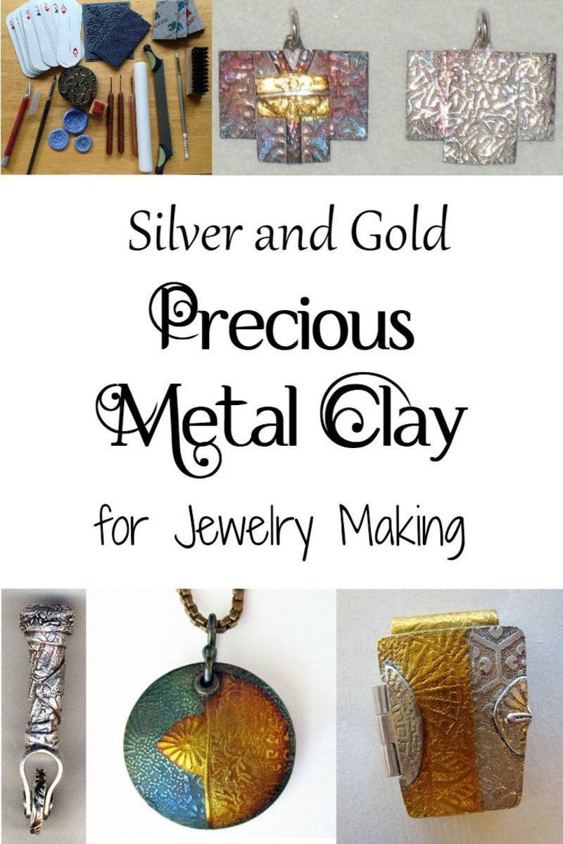 An introduction to precious metal clay (PMC, Art Clay Silver and Gold, etc.) for jewelry making by Margaret Schindel