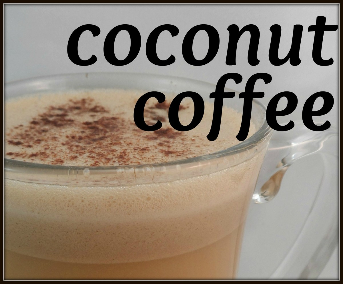 Coconut coffee: a healthy, delicious treat
