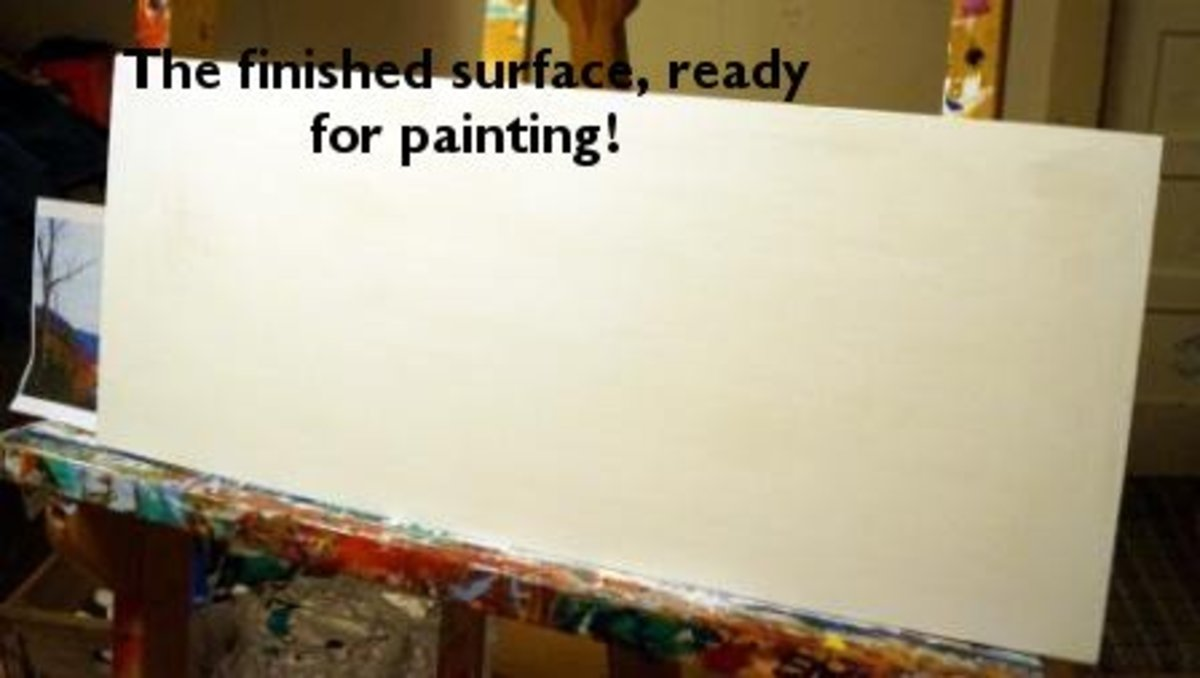 Make your own canvas create canvas wall art - Smooth walls for painting ...
