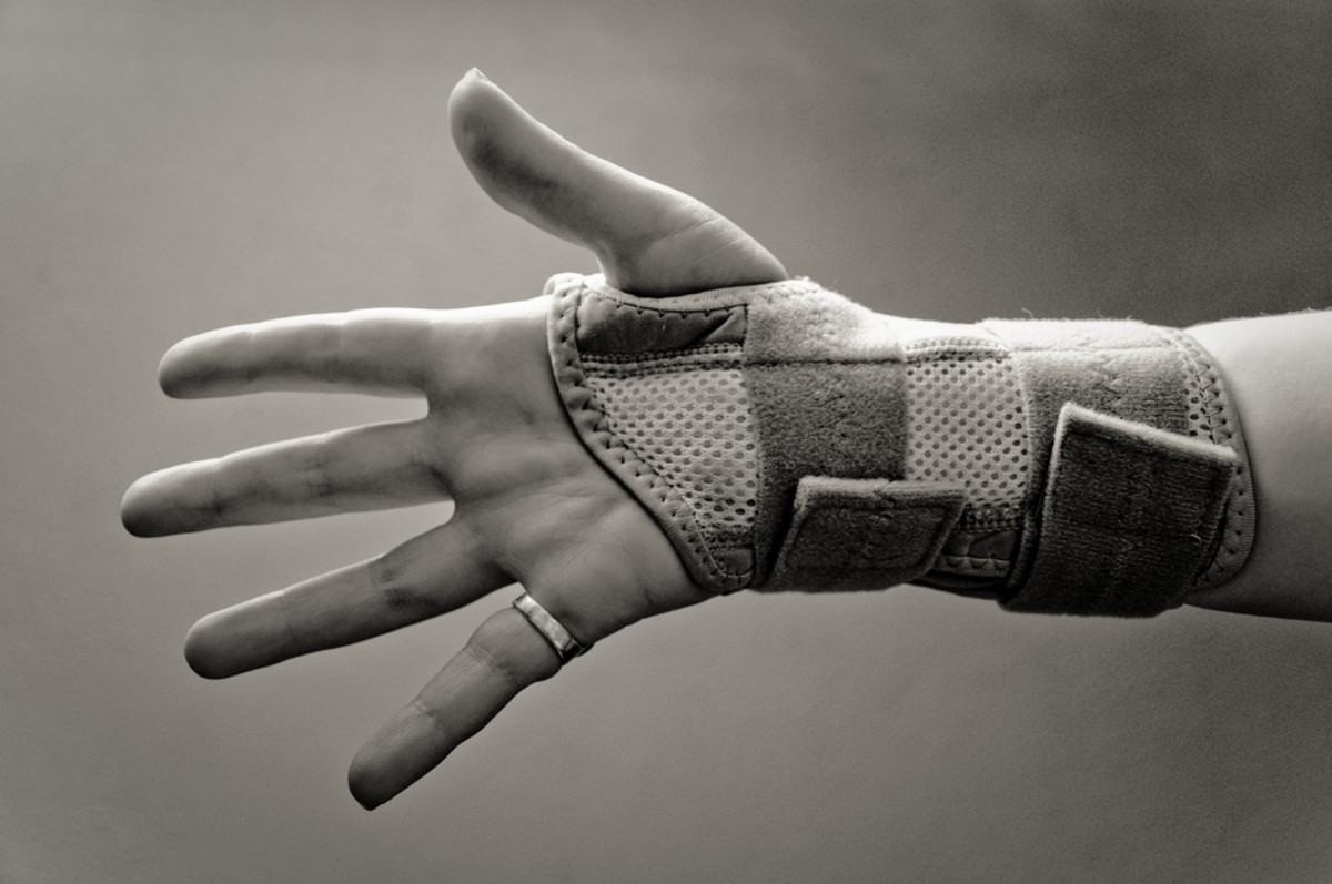 Struggling with wrist problems can be helped by wearing a wrist brace.