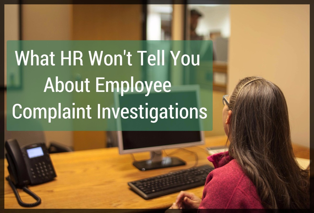 Employee Complaint Investigations What Human Resources Wonu0027t