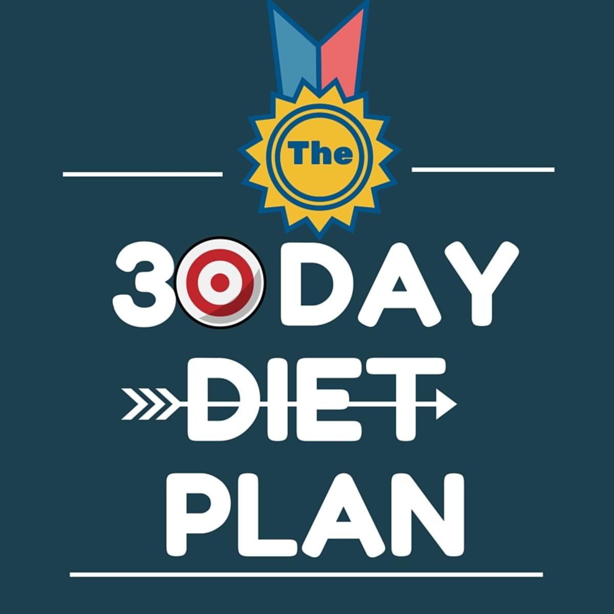 Healthy Diet Plan - 30 Day Diet Plan - Day 1-10