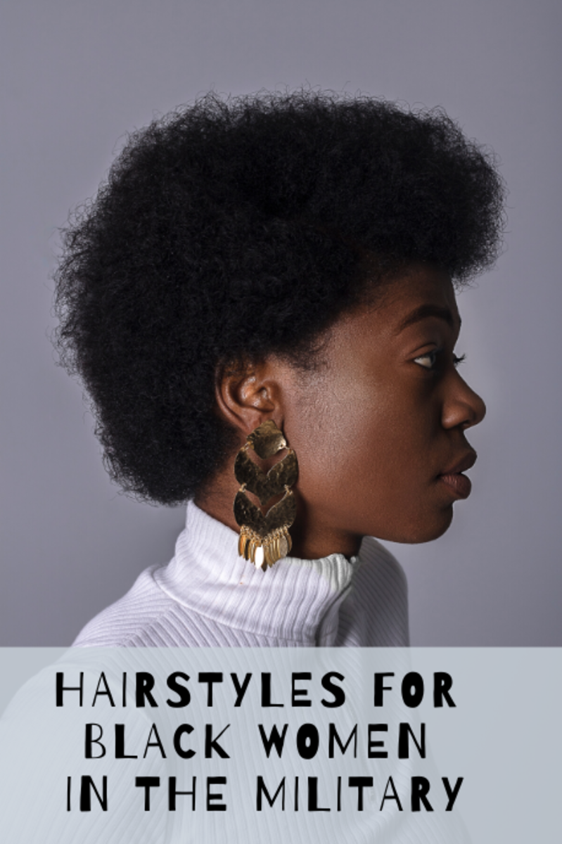 Regulation Hairstyles for Black Women in the Military