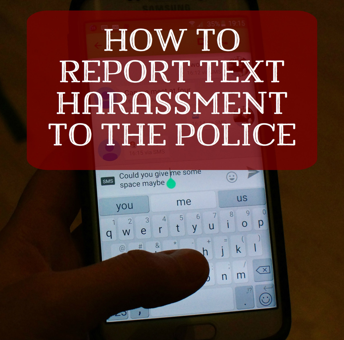 How to Report Harassing Text Messages to the Police