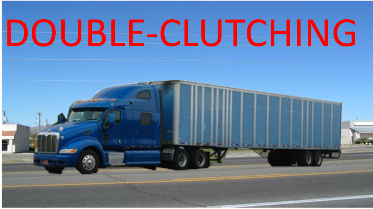 Double-Clutching Transmission Shift Commercial Semi-Truck | AxleAddict
