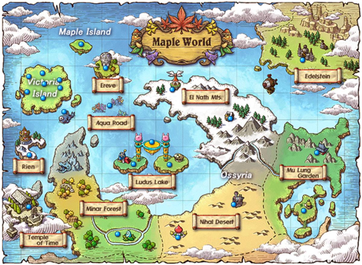 10 Games Like Maplestory