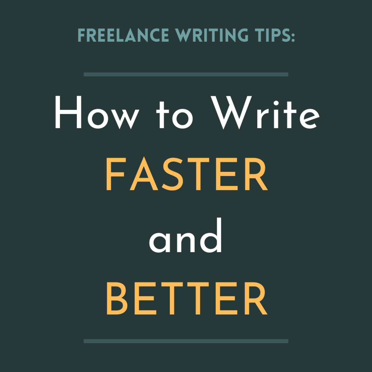 Get some advice on writing high-quality articles quickly as a freelancer.