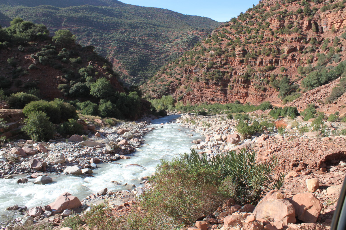 The Zat Valley offers an alternative to the usual tourist trips in the Atlas Mountains