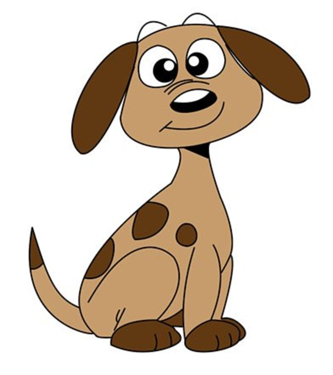 drawing-a-cartoon-dog