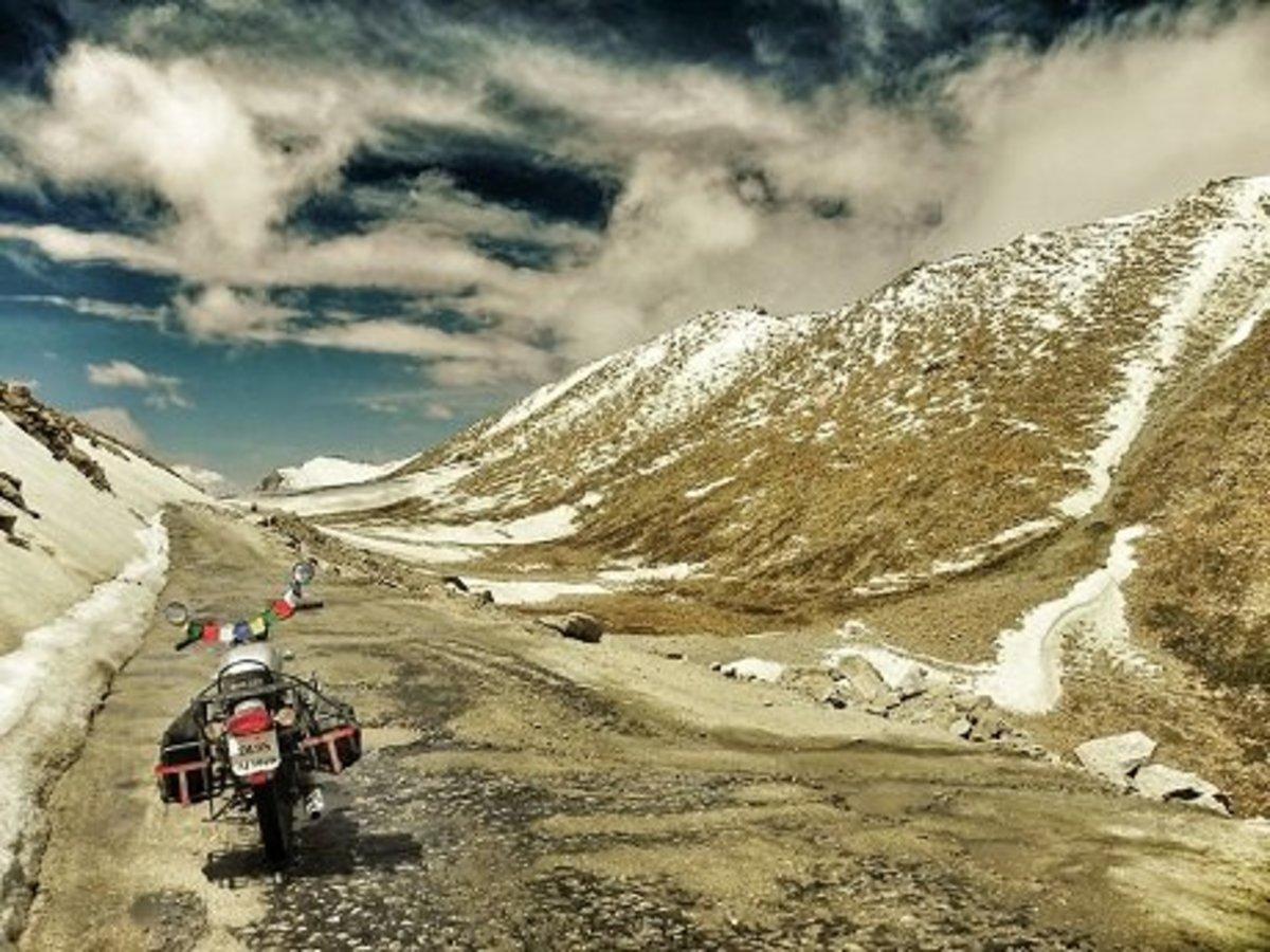 Riding on the Top of the World: Crossing Chang La Pass on Way to Pangong Tso Lake