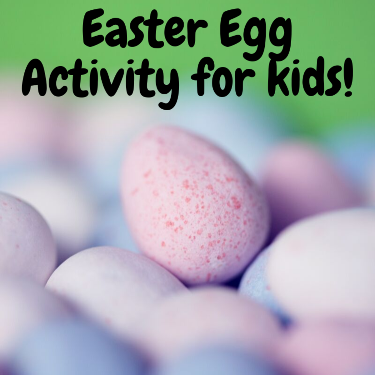 This Easter egg activity is great for your kids!