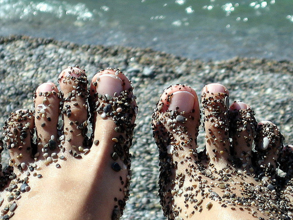 Home Remedies for Rough, Dry, Cracked, Calloused Feet & Heels