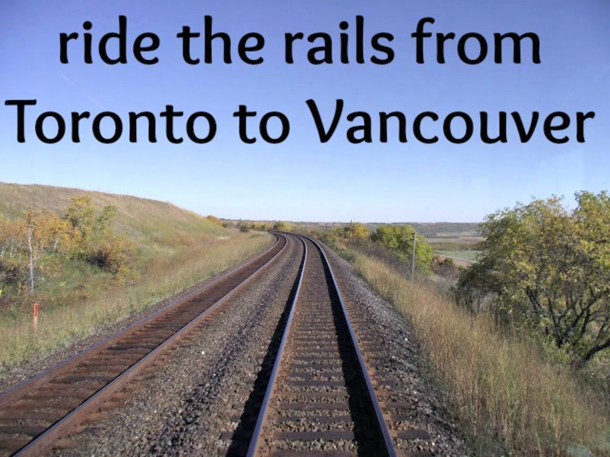 Crossing Canada by Train - VIA Rail and The Canadian