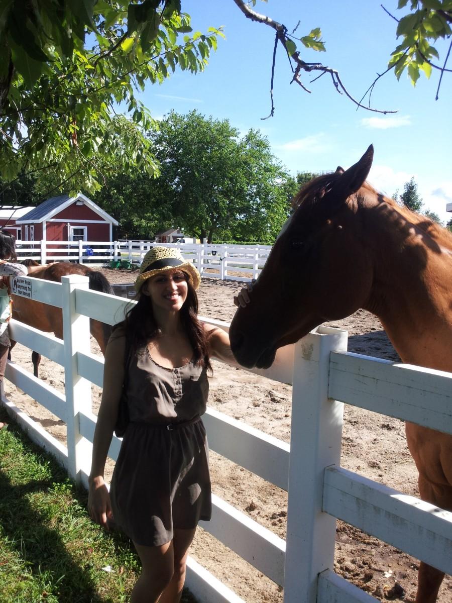 Enjoying a Day at Baiting Hollow Farm