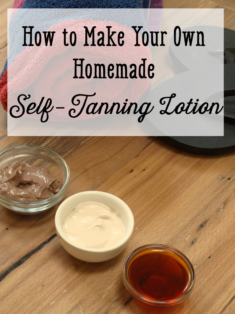 Homemade Self-Tanning Lotion