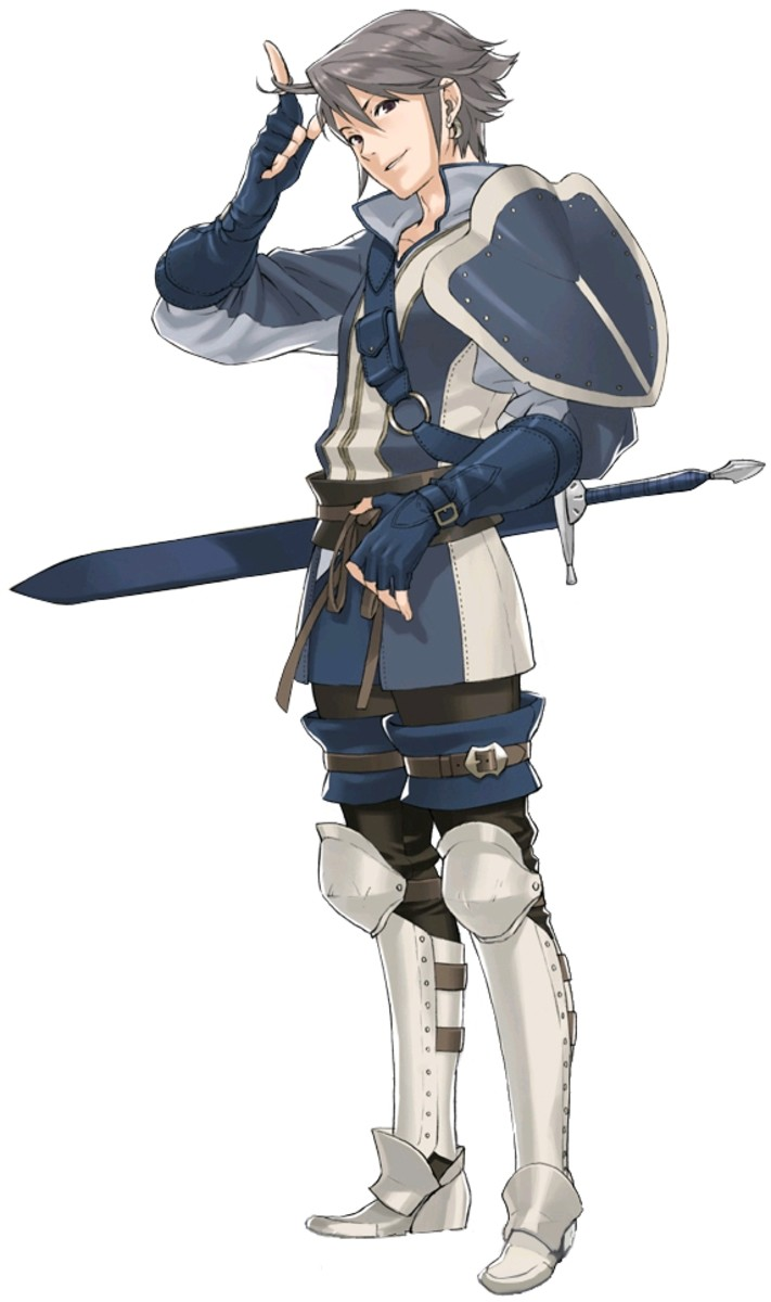 Fire Emblem: Awakening Child Units - Inigo Info