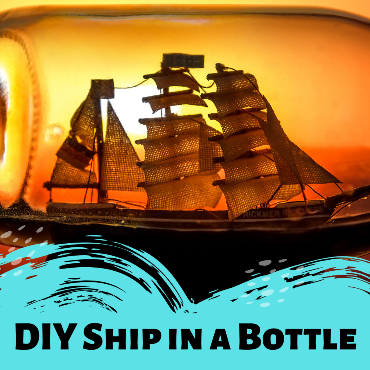 Review some instructions and diagrams for creating a ship in a bottle. Discover the amount of effort and fine detail that goes into this challenging craft.