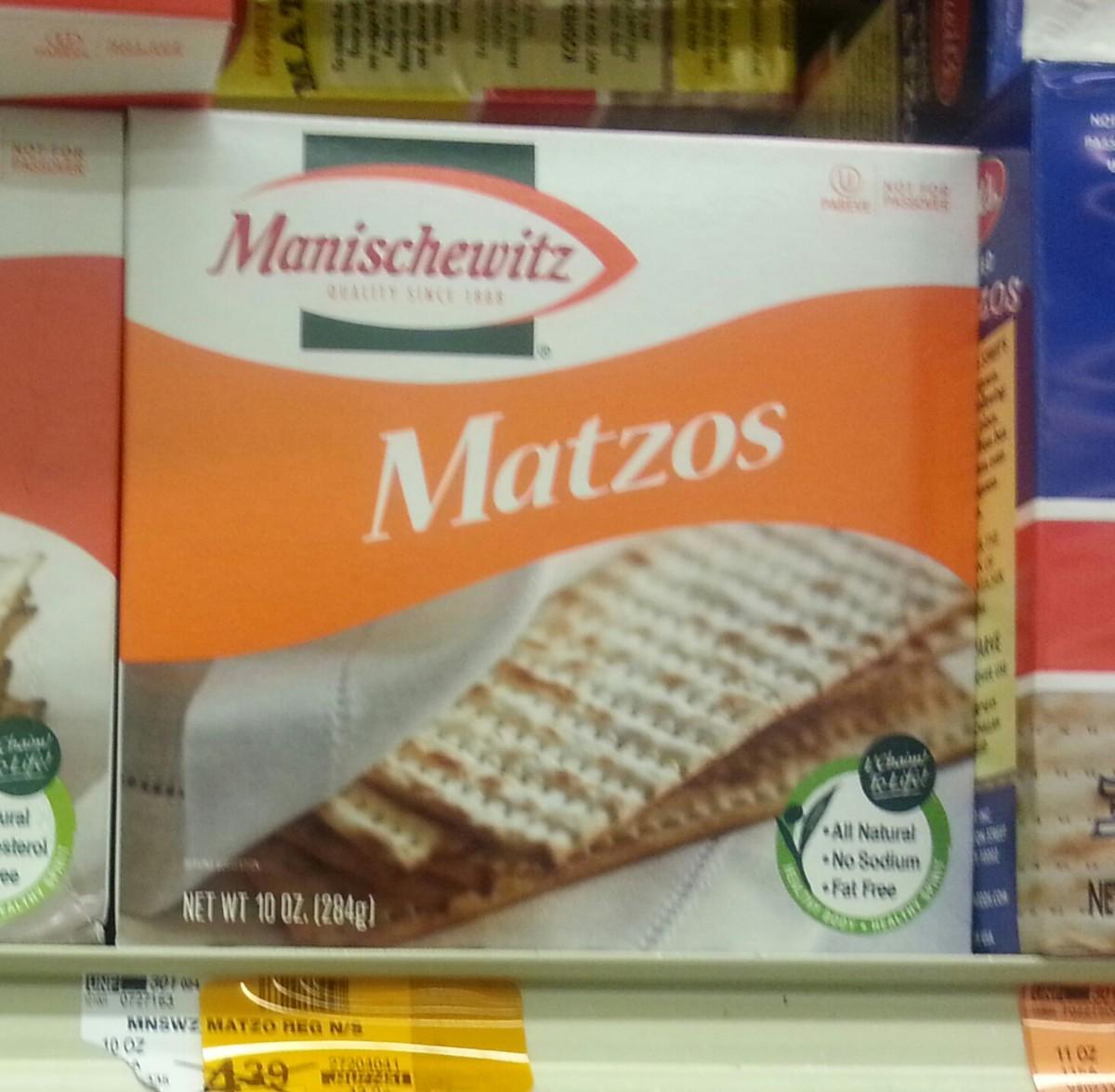 Must include the requisite Matzah!