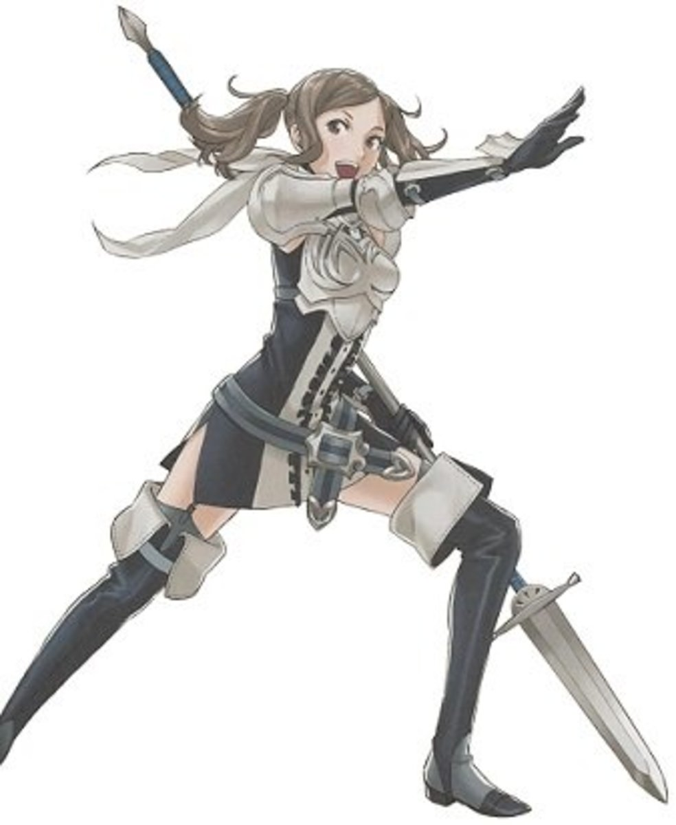 Cynthia, Sumia's daughter. In canon, Chrom is her father.
