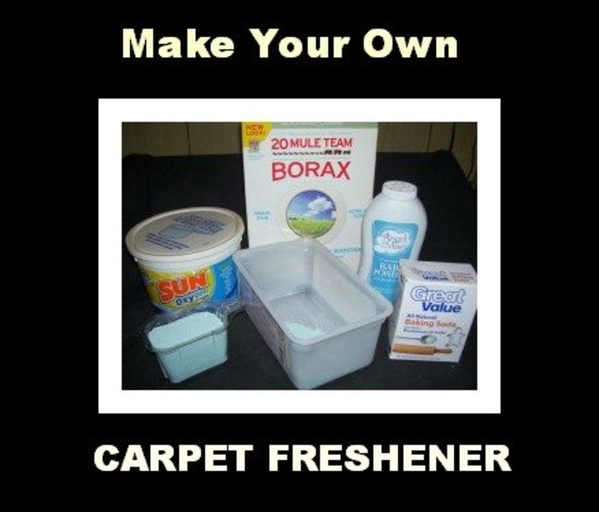 Make Your Own Easy and Cheap Carpet Freshener