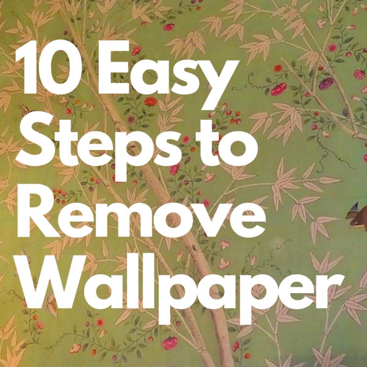 How to Remove a Wallpaper Border | Dengarden