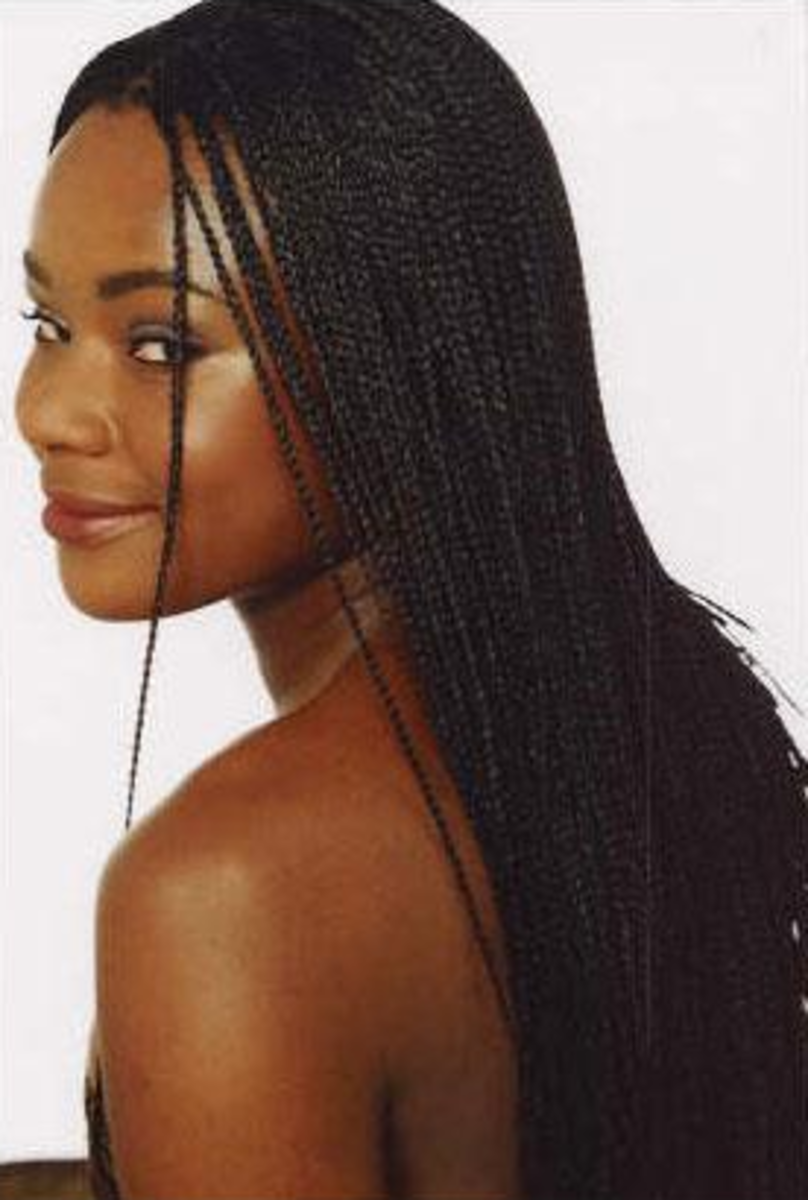 Hairstyles for Black Women in the Military: Individual Braids