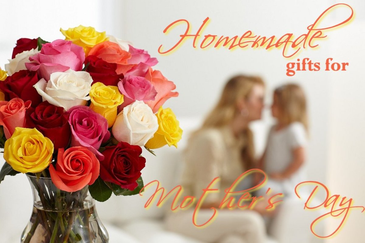 Homemade Gifts for Mother's Day - Impressive and Easy
