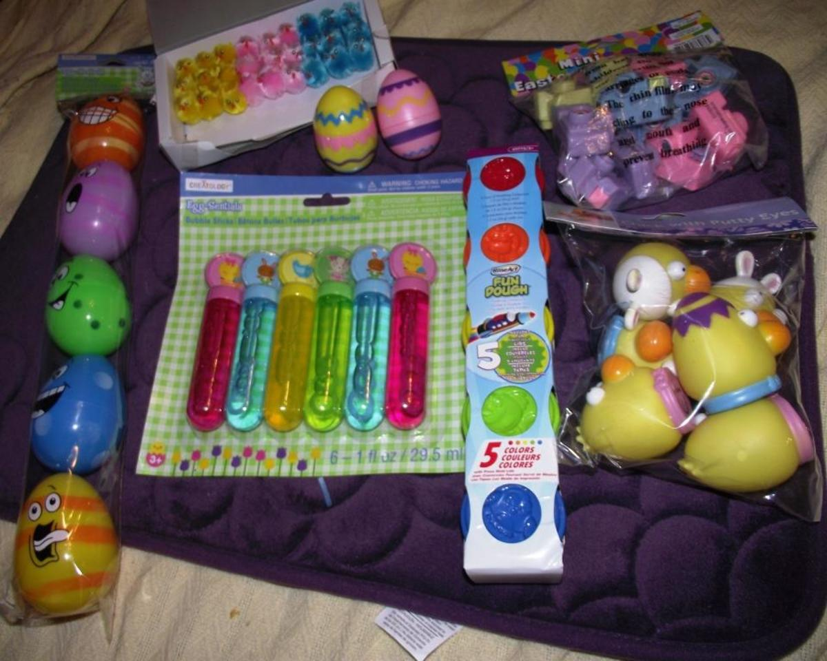 Making an Easter Basket for a Special Needs Child