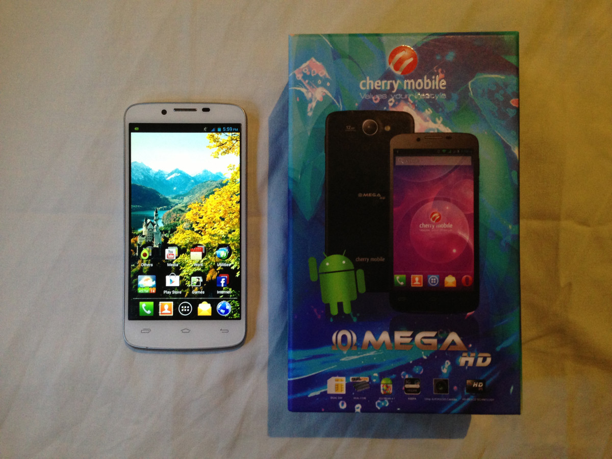 cherry mobile omega hd h100 review | turbofuture