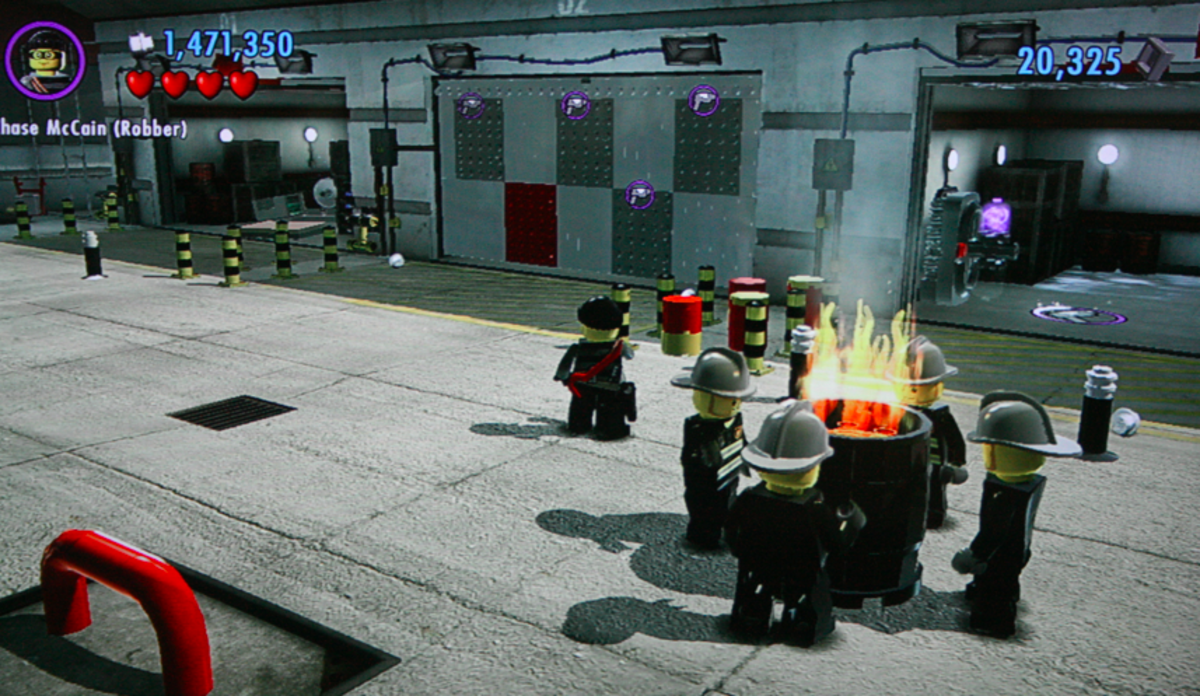"""""""LEGO City Undercover"""" copyright LEGO Group. All images used for educational purposes only."""