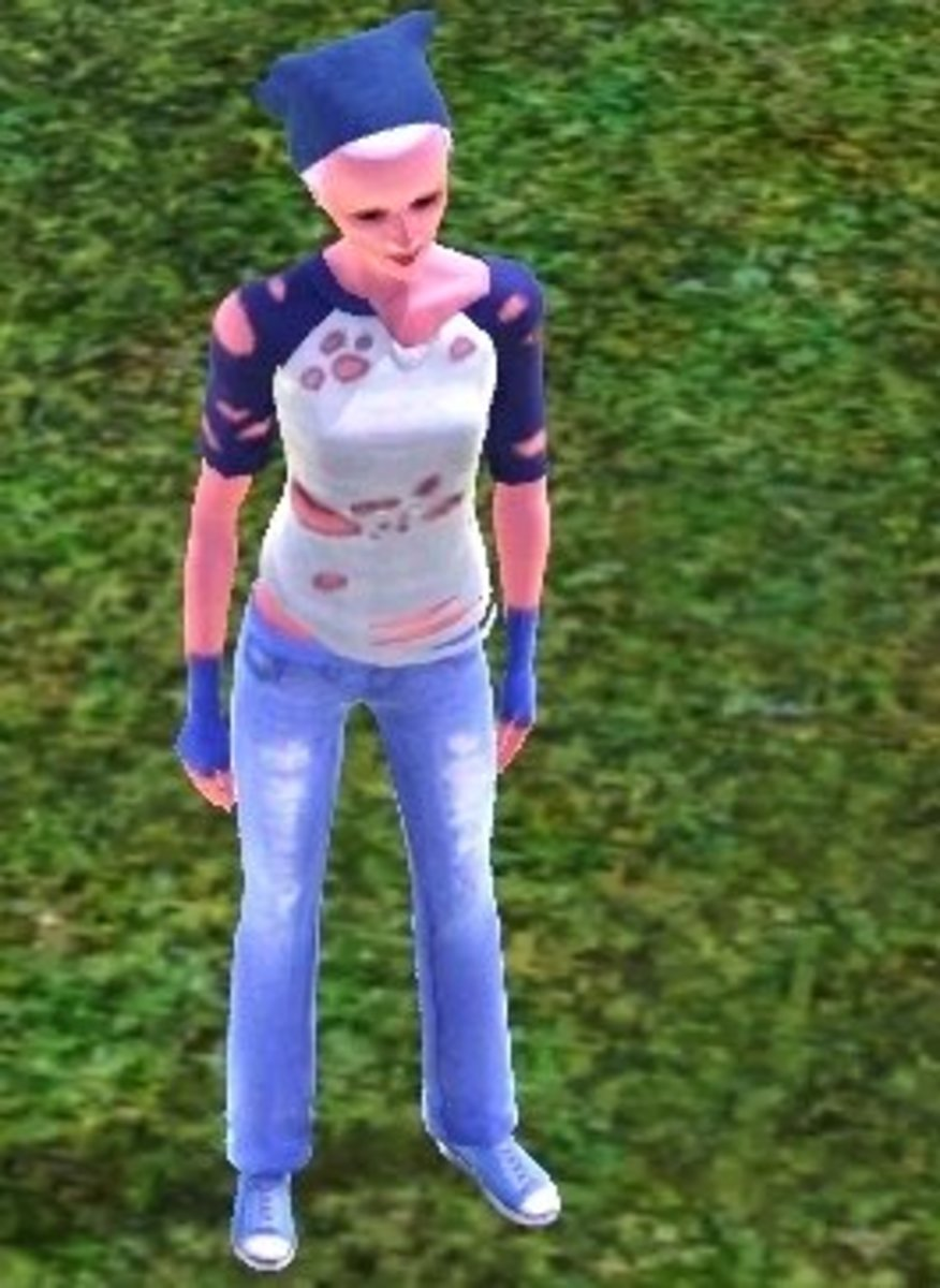 Clothing options in The Sims 3 make it easy to dress a sim like they can't afford anything but rags.