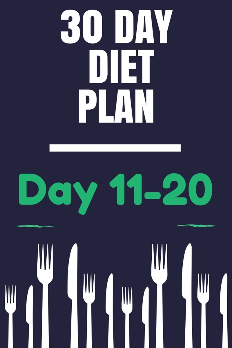 30 Day Healthy Diet Plan - Day 11-20