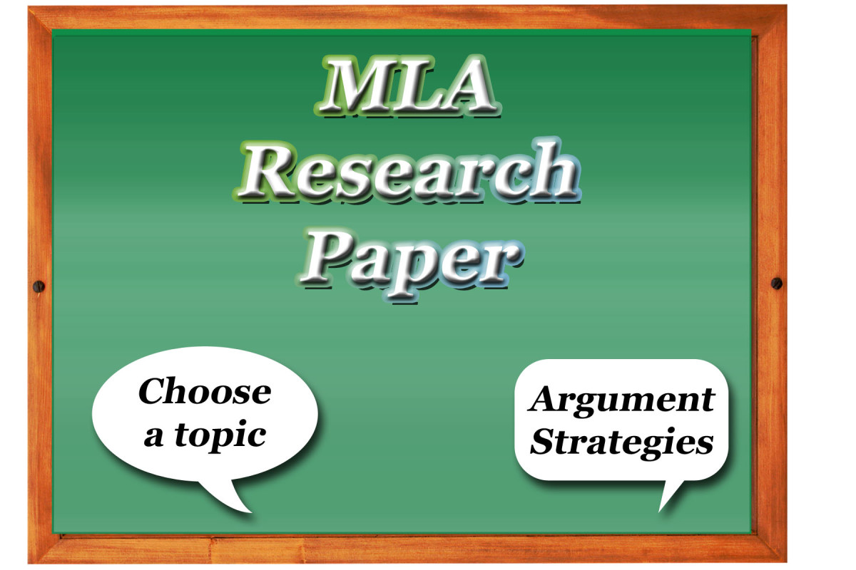 How to Write a Research Paper MLA Style