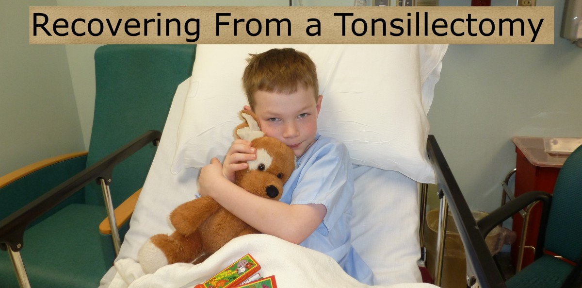 Helping a Child Recover From a Tonsillectomy