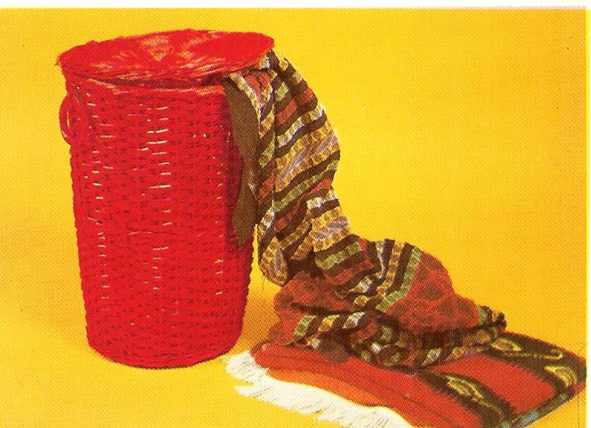 Basket Weaving—How to Weave a Laundry Hamper