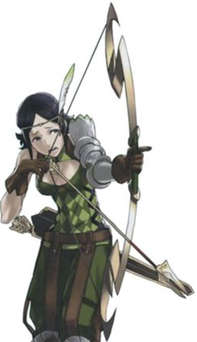 Noire, Tharja's daughter.