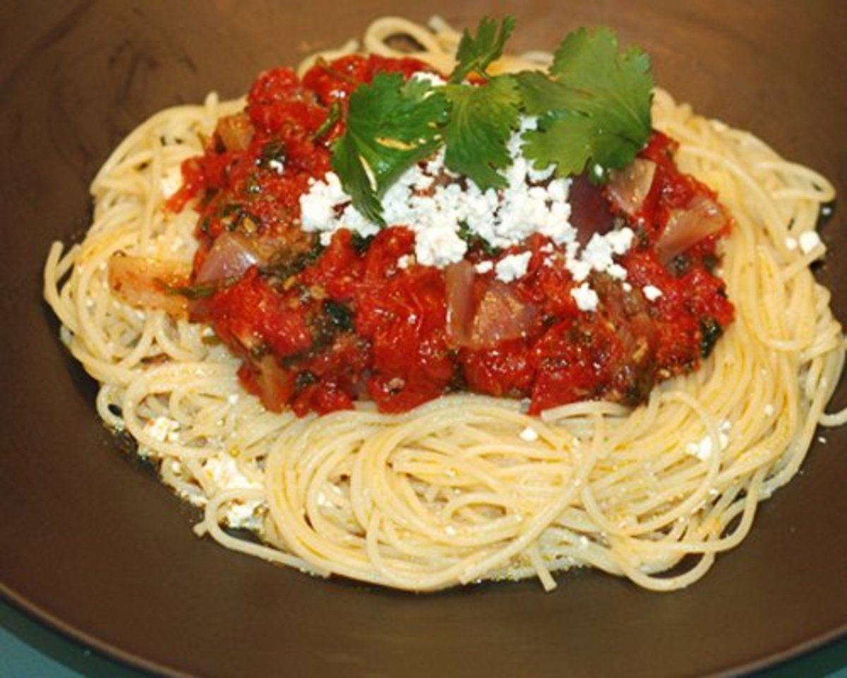 Easy Rustic Pasta Sauce Recipe Made With Fresh Tomatoes