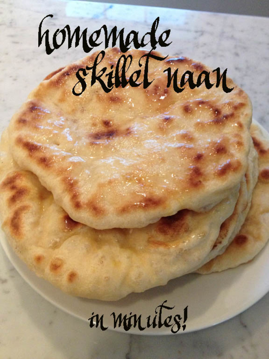 Skillet-Made Naan: An Easy Recipe for an Indian Cuisine Staple