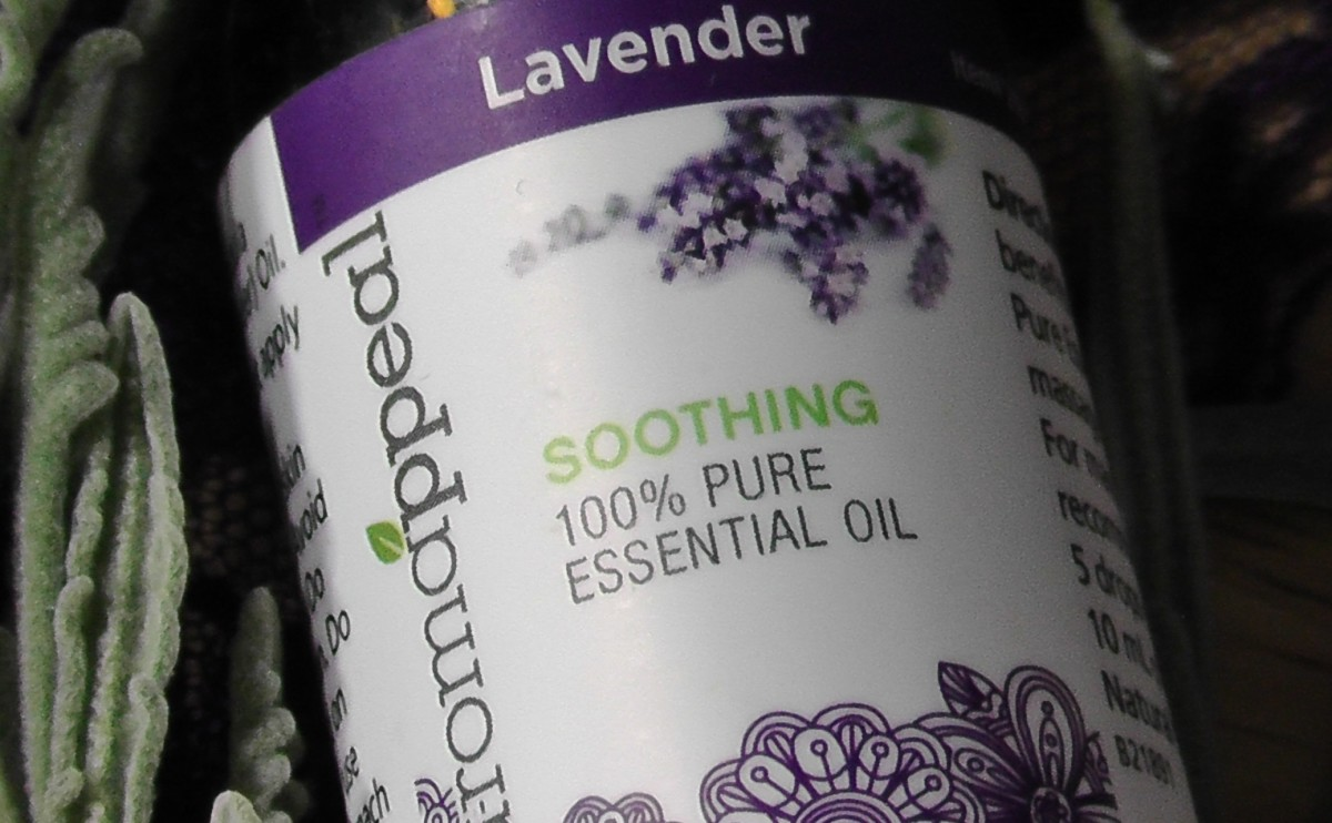 The essential oil of lavender has long been used as a sleep aid.