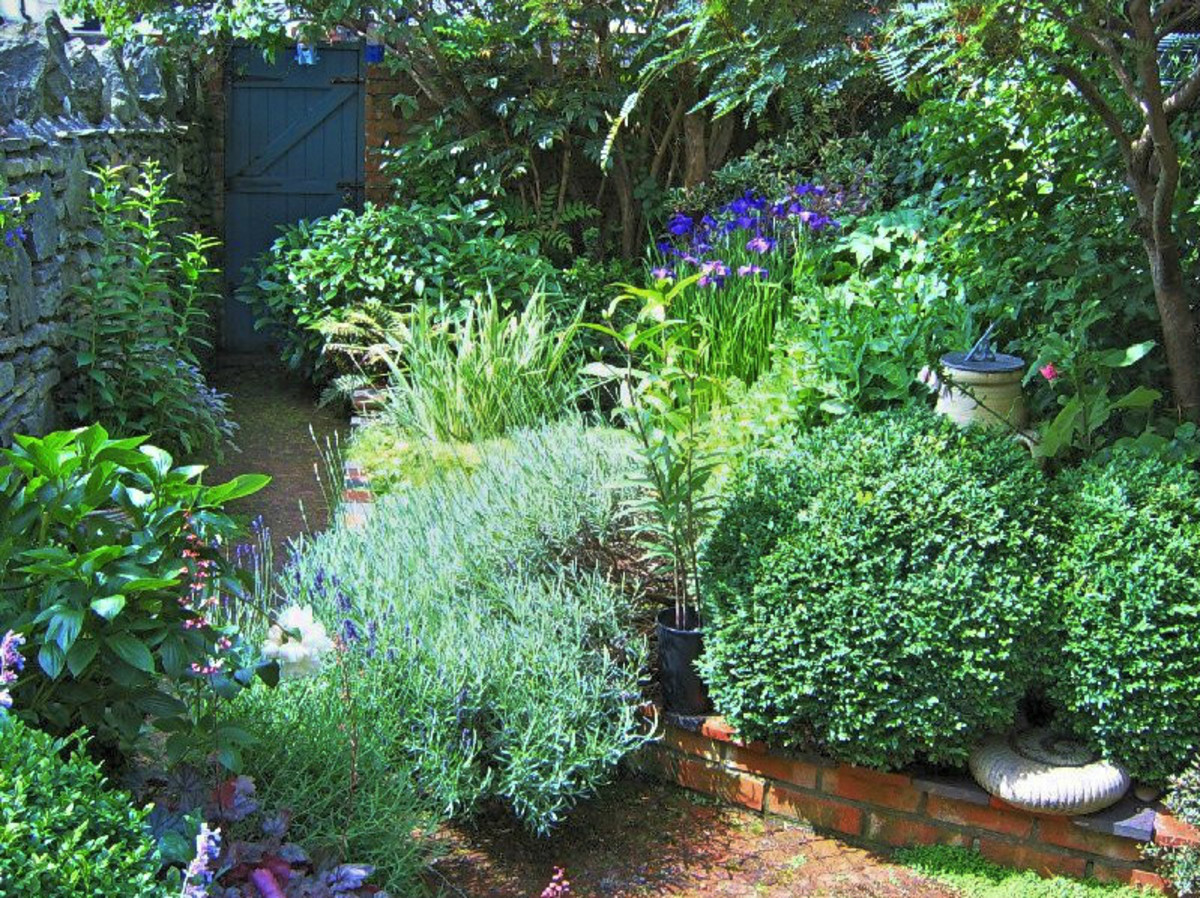 Create a beautiful garden in a small space dengarden for Beautiful small gardens