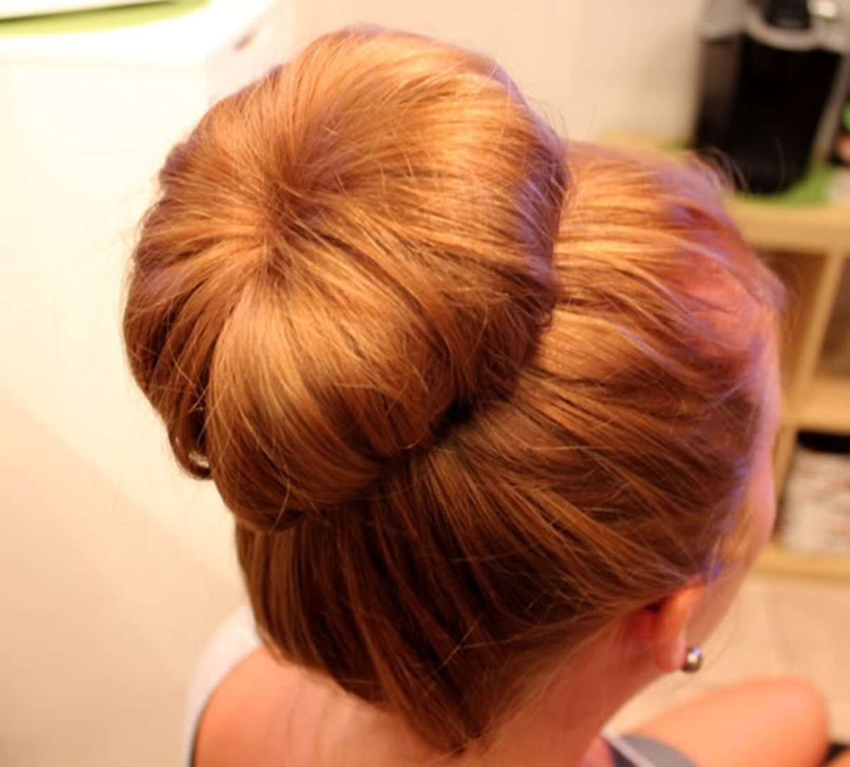 High sock bun