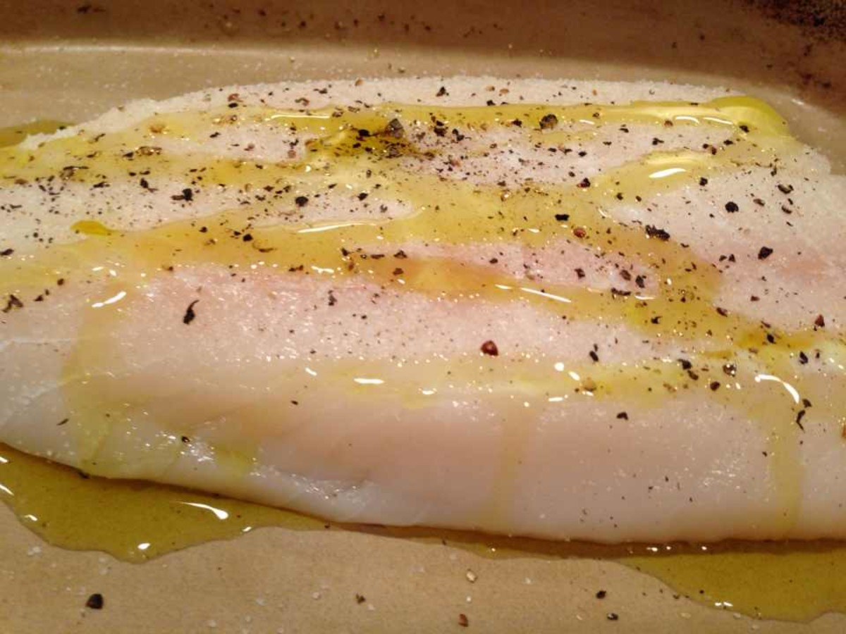 How to barbecue halibut recipe and photos delishably for How to cook halibut fish
