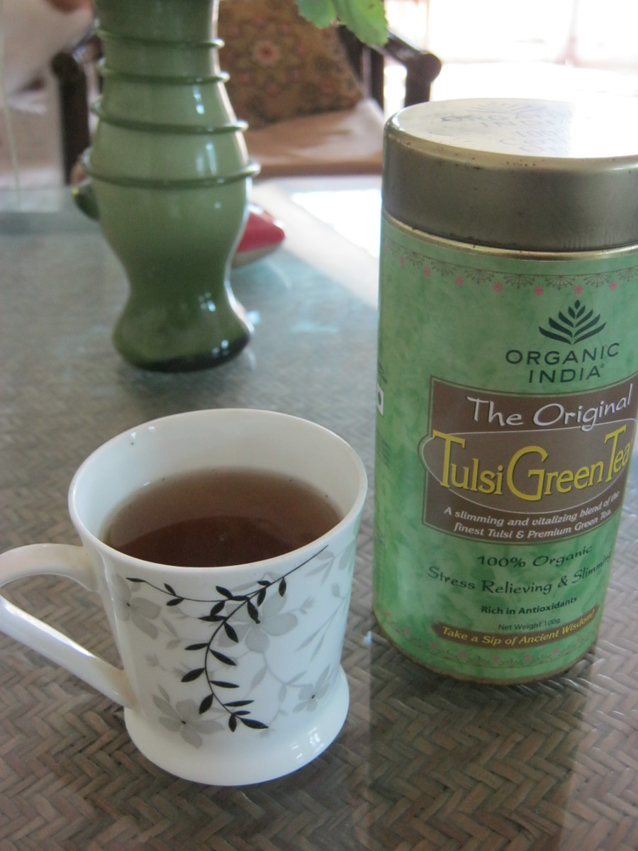 Organic India Tulsi Green Tea - A Review
