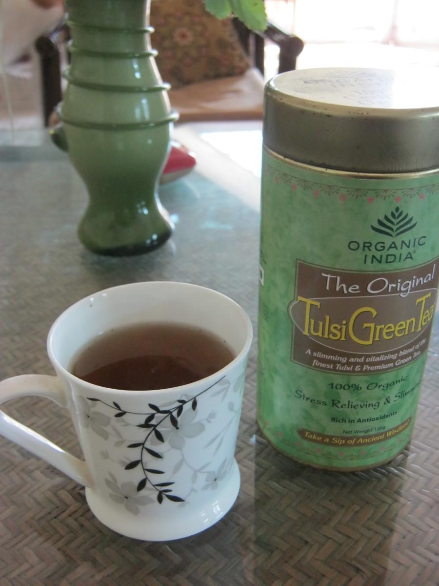 Organic India Tulsi Green Tea - A Review