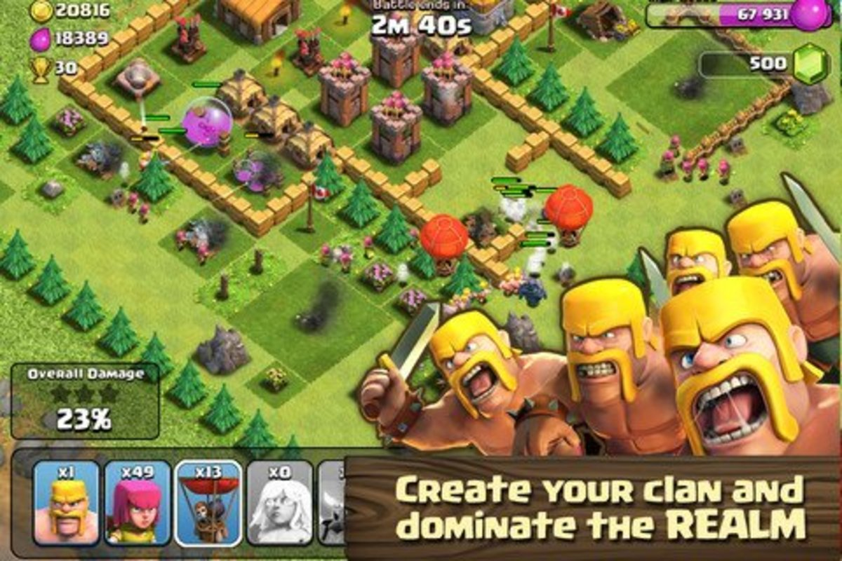 9 Must-Play Games Like Clash of Clans