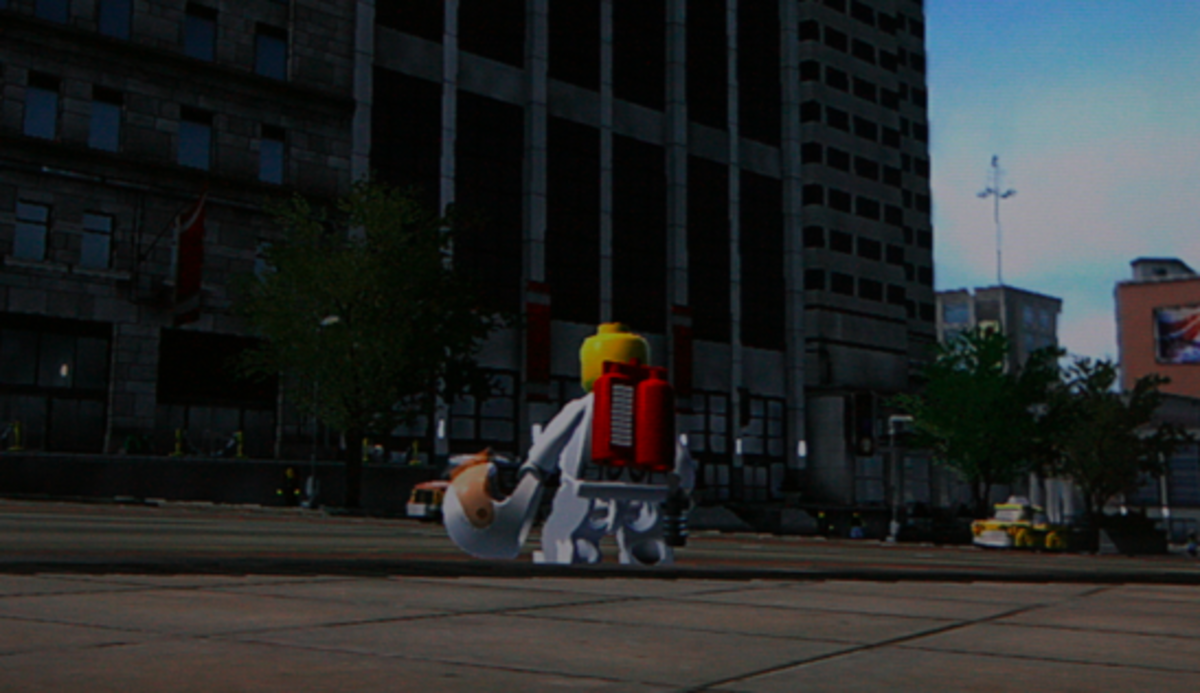 LEGO City Undercover Walkthrough: Downtown Collectibles
